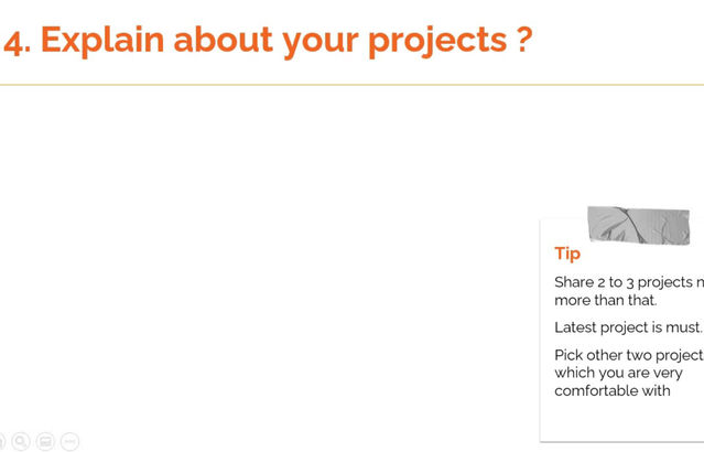How to answer the question, 'Explain about your projects ?' in RPA interviews.