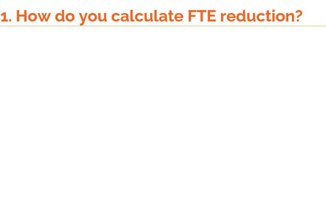 How to answer the question, 'How do you calculate FTE reduction in RPA' in your RPA interviews