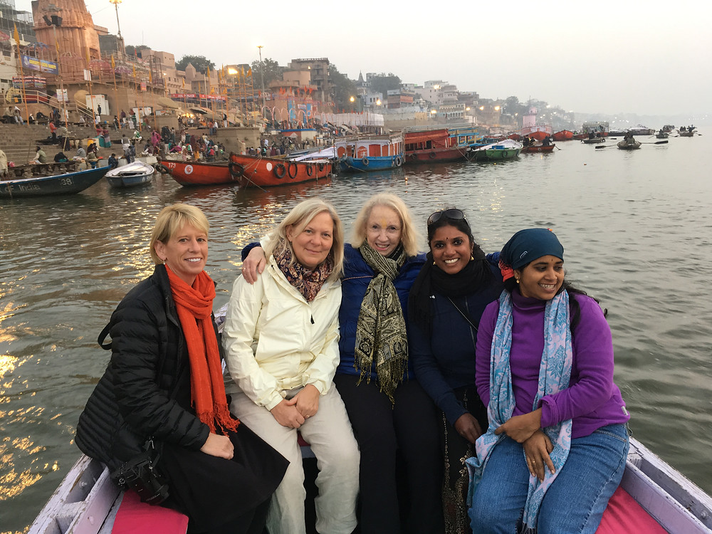 Sunrise on the Ganges River