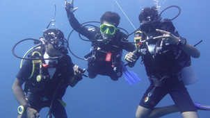 Dive Certification for our Senior High School Students
