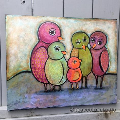 Flocked Together