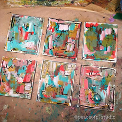 Mini Abstract paintings
