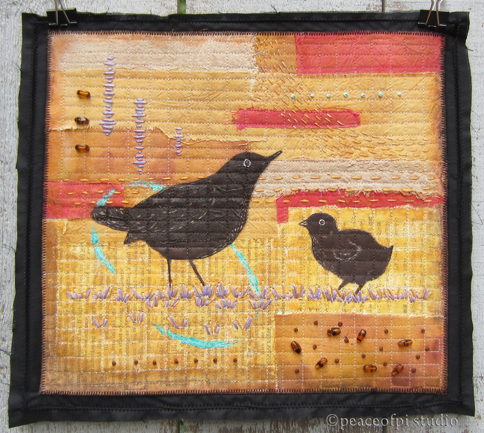 Blackbirds Quilt