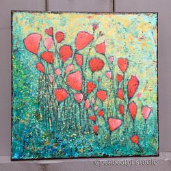Wildflowers Floral Painting