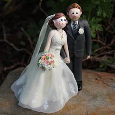 custom made wedding cake topper