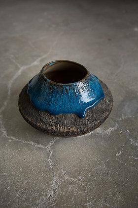 Dark Blue Vase