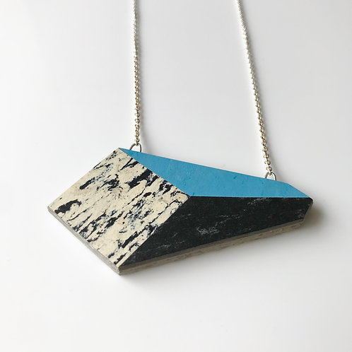 Perspective necklace - Nordic Blue