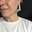 Thumbnail: Obtuse earrings - Nordic Blue/Print