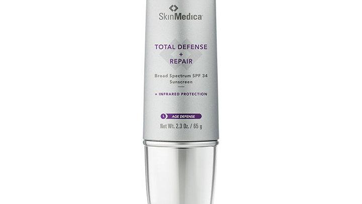 Total Defense + Repair Broad Spectrum Sunscreen SPF 34
