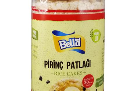 BellaNut Rice Cake (Pirinç Patlağı)