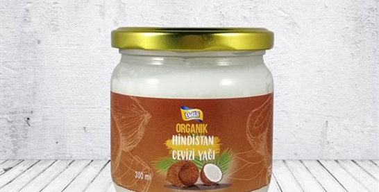 Bellanut Organik Hindistan Cevizi Yağı ( 300 ml )