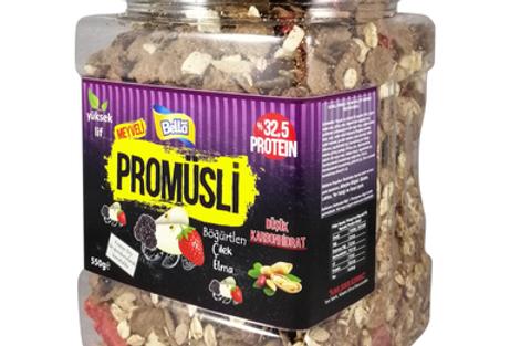 BellaNut Promüsli Meyveli 500g