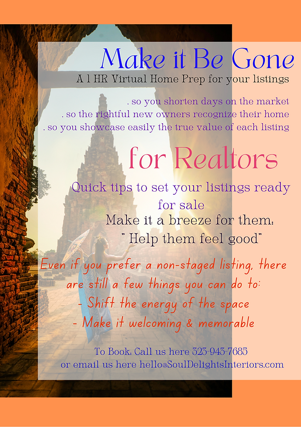 Helping Realtors to Prep & Make ready their listings for sale