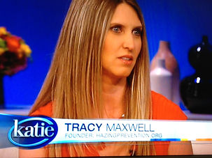 Tracy Maxwell on Katie Couric Show still