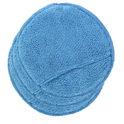 Circular Microfiber Applicator Pad