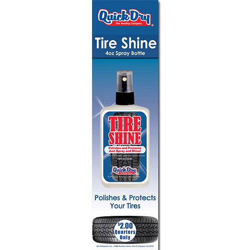 Tire Shine Decal