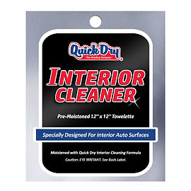 Interior Cleaning Towelette