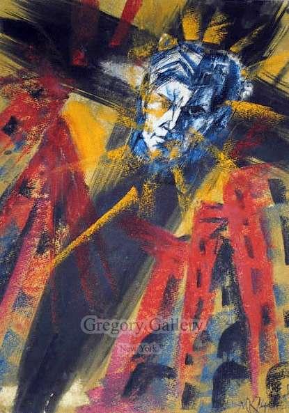 """""""Mayakovsky na kreste"""" 1974."""