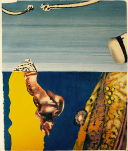 """Imaginary Landscape"" 1980."