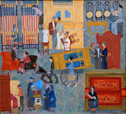 """Flea Market"" 1960-70s"