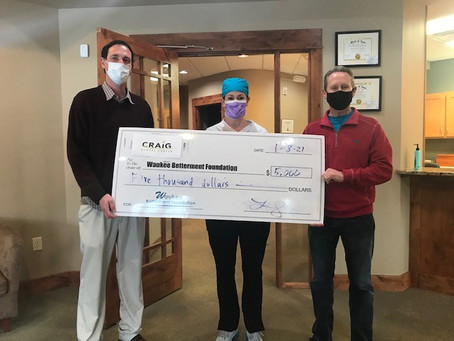 Craig Dental Donation