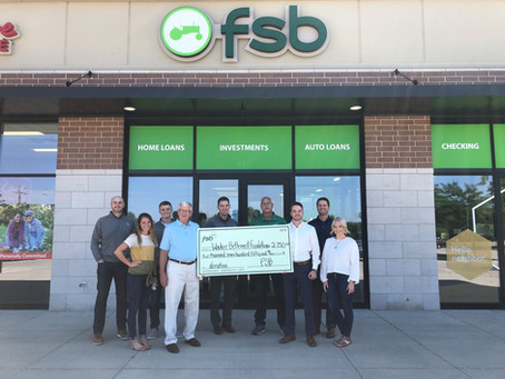 Farmers State Bank Donation