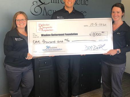 DeRocher Chiropractic Donation