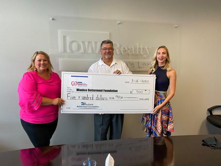 Iowa Realty Foundation Donation