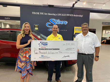 Stivers Ford Donation