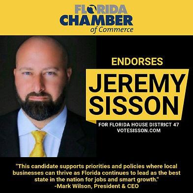 Florida Chamber of Commerce Endorsement.