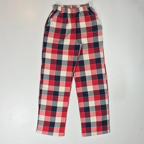 Pantalón Rudy - Cuadros rojo