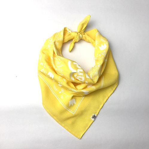 Pañuelo bandana Amarillo