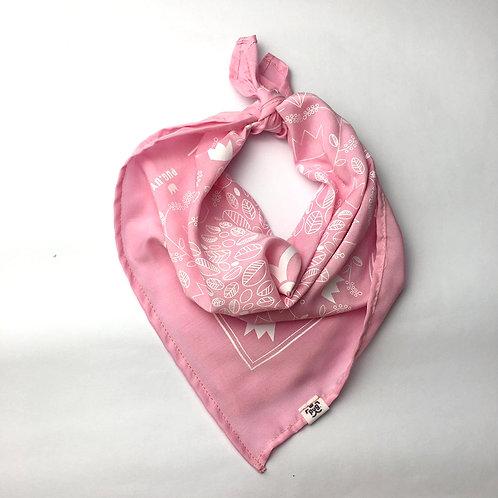 Pañuelo bandana Rosa