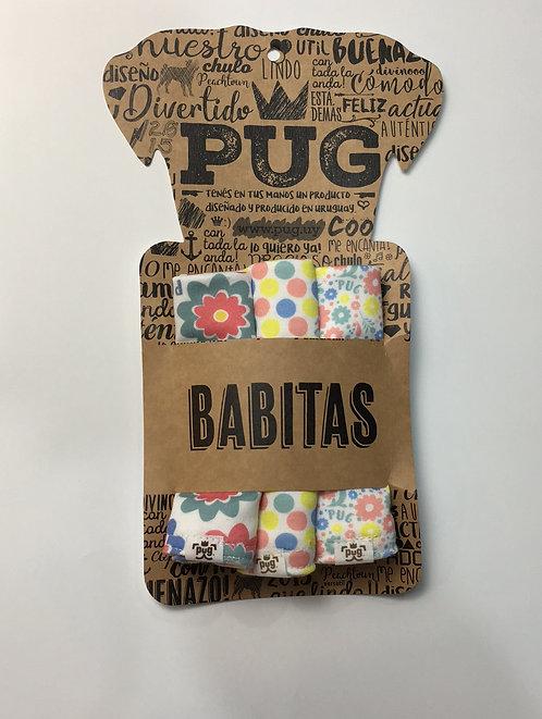 Set Babitas x3 - Flores mix