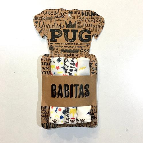 Babitas x 3 - Pug & Roll