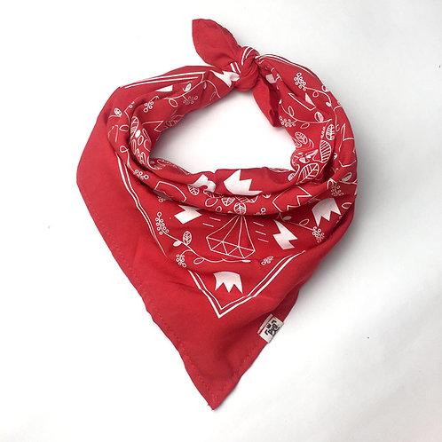 Pañuelo bandana Rojo