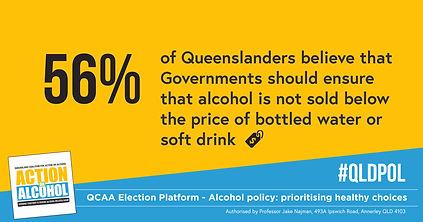 QCAA Election Platform 2020 Social Image