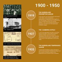 1900 - 1950 DARFA History