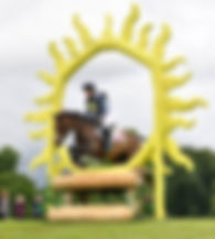 sun jump bramham horse trials david evansjumps