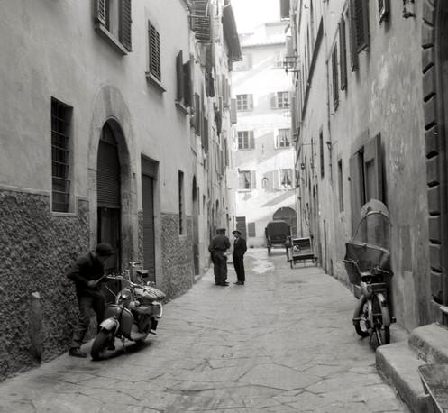 Via del corno, Firenze, 1959