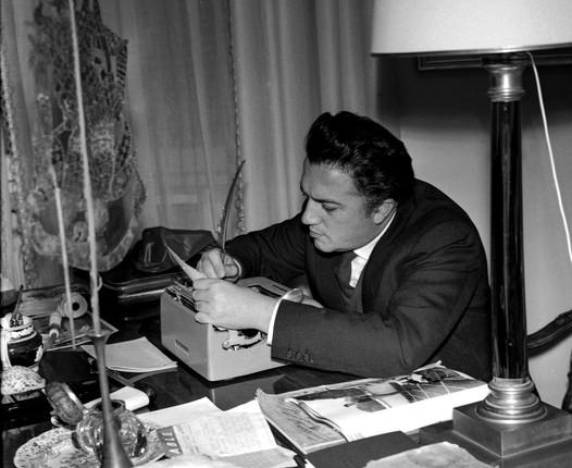 Federico Fellini, Roma 1956