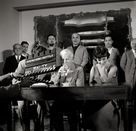 Charles Chaplin, Ischia 1957