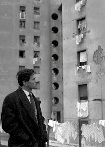 Pier Paolo Pasolini, Roma 1956