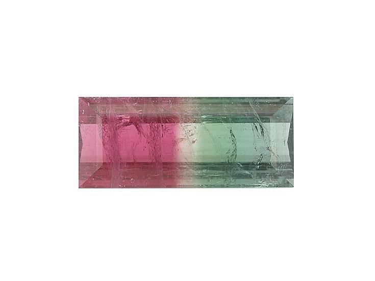 Turmalin facettiert, Tricolor