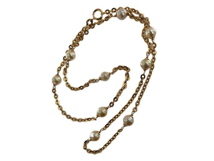 Ankerkette mit Perlen