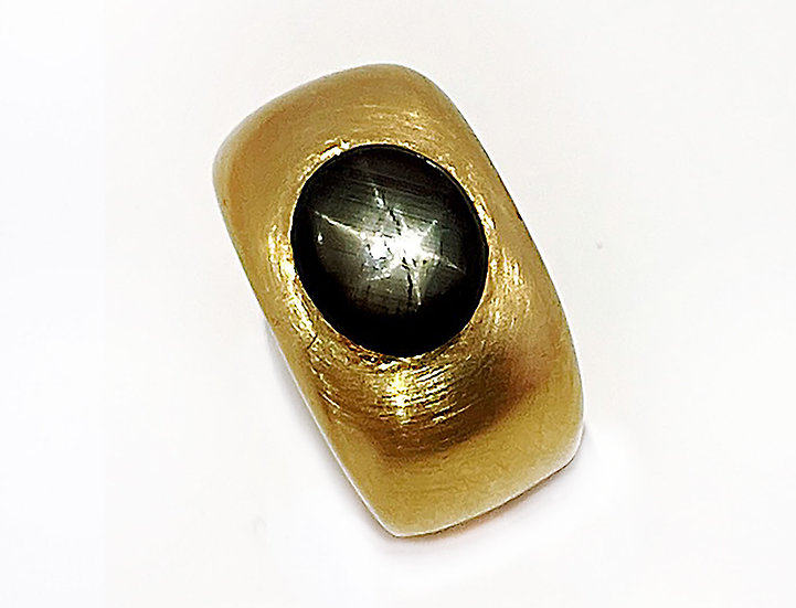 "Ring Sternsaphir ""Black Star"""