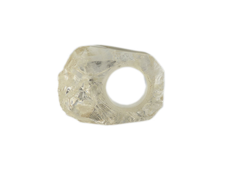 Quarz Kristall Ring