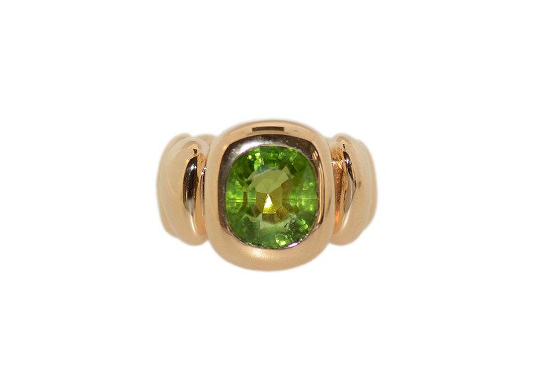 Ring Organic mit Peridot