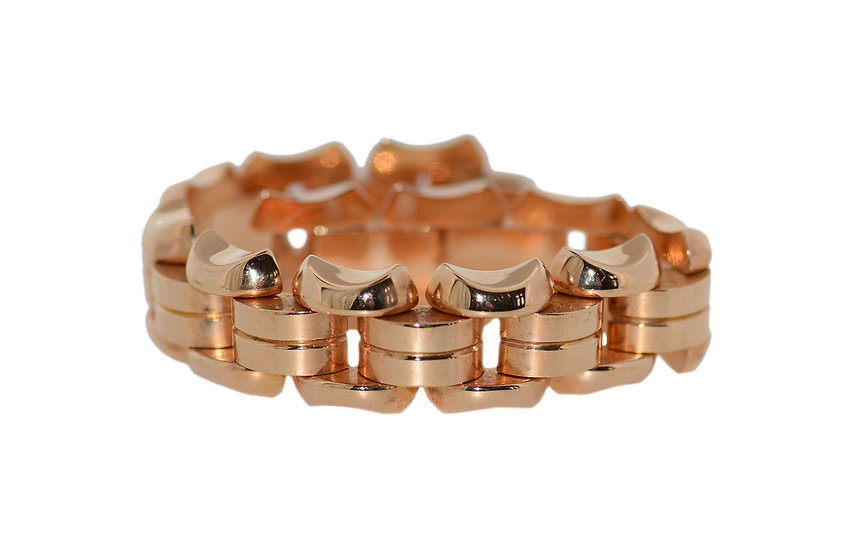 Rotgold Art Deco Armband