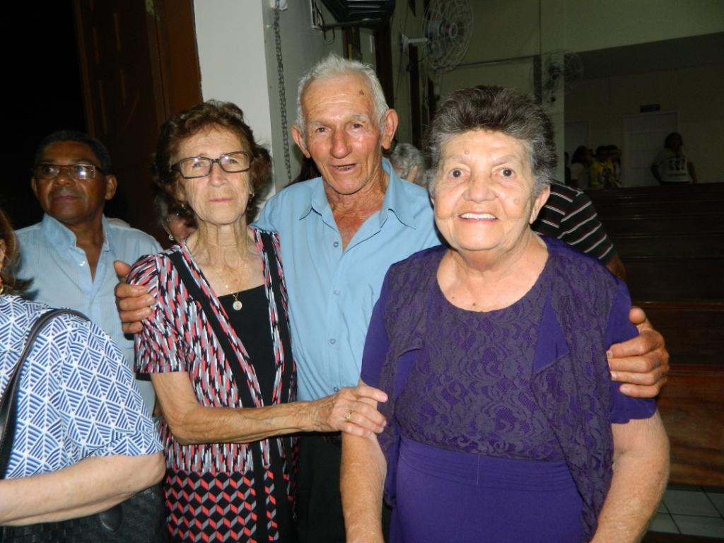 Familiares do padre Genivaldo Garcia